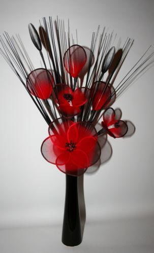 Artificial Flowers Home Decor Accessories Ebay