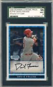 2009 Bowman Chrome David Freese
