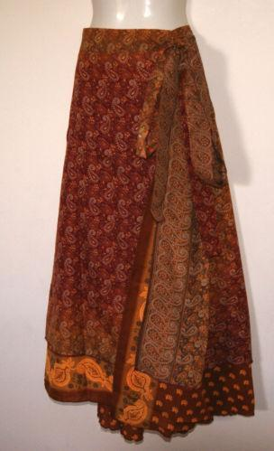 Indian Wrap Skirt Ebay