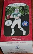 Joe Namath Hallmark Ornament