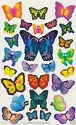Scrapbook Butterfly Stickers