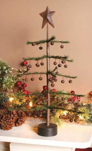 Small Lighted Artificial Christmas Trees