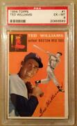 1954 Topps Ted Williams PSA