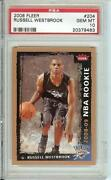 Russell Westbrook Fleer Rookie