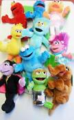 Sesame Street Plush Set
