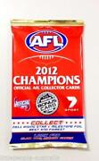 2012 AFL Champions Cards