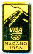 Visa Olympic Pin