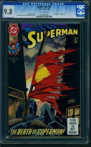super popular 6d50a a663e Following this, all Death of Superman eBay ...