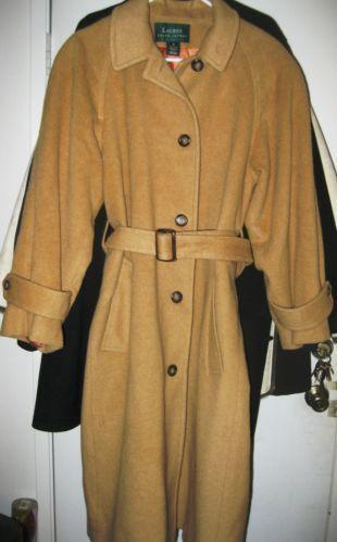 Ralph Lauren Camel Coat Ebay