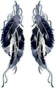Indian Feather Decals