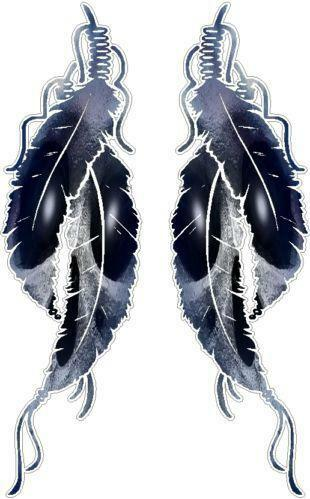 American Eagle Credit Card Sign In >> Indian Feather Decals | eBay