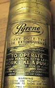 Pyrene Fire Extinguisher