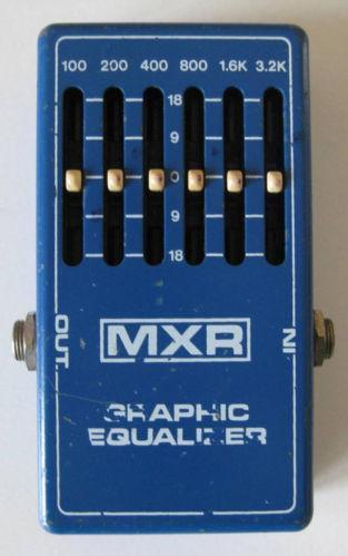 mxr graphic equalizer ebay. Black Bedroom Furniture Sets. Home Design Ideas