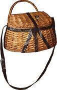 Antique Fishing Basket