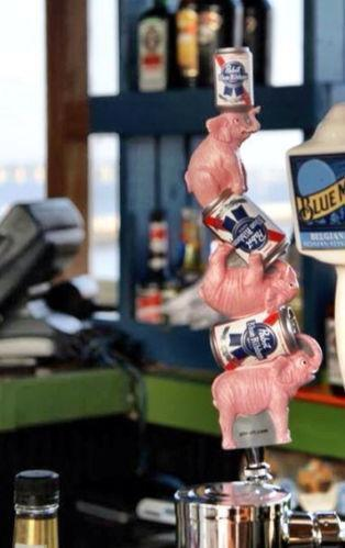 Pbr Beer Tap Handle Ebay