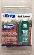 Kreg Deck Screws