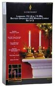 Battery Operated Window Candles