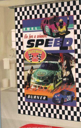 Race Car Curtains Ebay