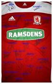 Signed Middlesbrough Shirt