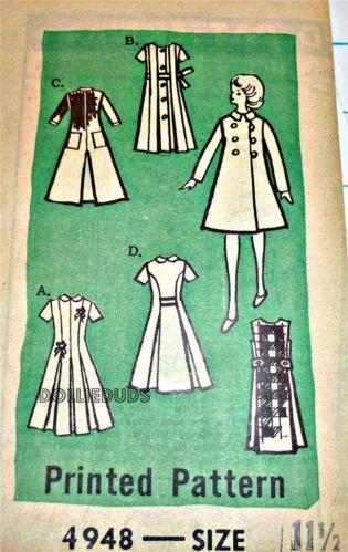 Vintage Barbie Sewing Patterns Ebay