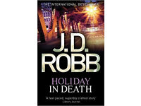"JD Robb ""In Death Series"" with New York Detective Eve dallas"