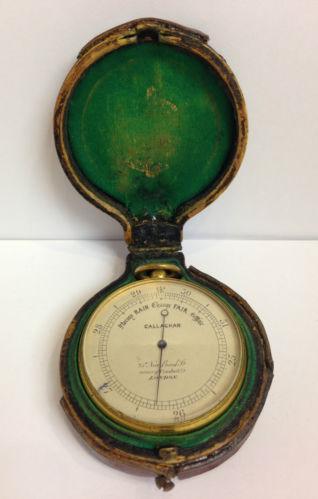 Brass Barometer Ebay