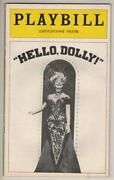 Hello Dolly Playbill