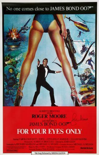 James Bond Film Posters Ebay