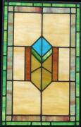 Stained Glass Window Prairie