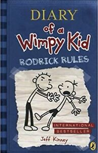Diary of a Wimpy Kid: Rodrick Rules, Book 2.
