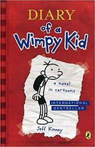 Diary of a wimpy kid 1,2,3,4, 5 et Journal d'un degonfle 7
