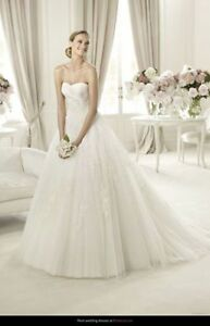 Pronovias Planeta Wedding Dress Bridal Gown