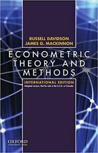 Econometric Theory and Methods: International Edition