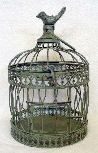 decorative bird cage ebay. Black Bedroom Furniture Sets. Home Design Ideas