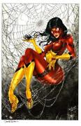 Spider Woman Art