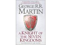 George R. R. Martin - A Knight of the Seven Kingdoms - Hardback trilogy (Game of Thrones)