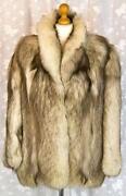 White Real Fur Coat