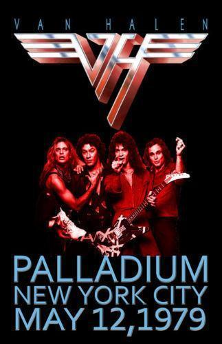 Van Halen Poster Ebay