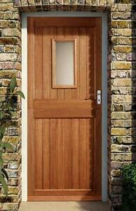 Stable door ebay for Wooden exterior back doors