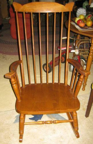 Vintage High Back Chair Ebay