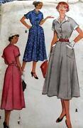 1950s McCalls Pattern