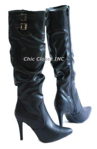 Tall High Heel Boots Ebay