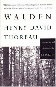 Walden-Henry David Thoreau-Nice Concord Library Edition +