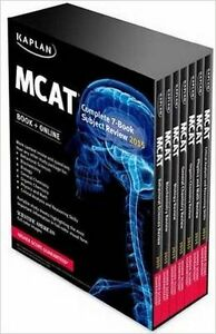 Kaplan Complete 7 book set for 2015 MCAT