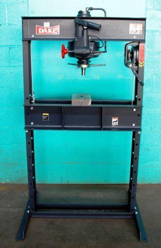 Dake Hydraulic Press Manufacturing Amp Metalworking Ebay