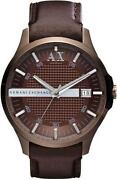 Armani Watch Leather Straps