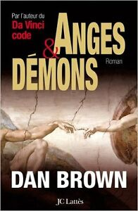 Roman Anges et démons de Dan Brown grand format