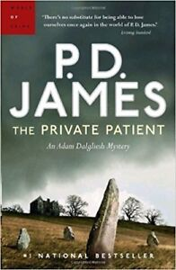 The Private Patient by PD James (paperback)