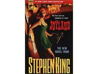 Stephen King, Joyland Book, New, Paperback, Hard Case Crime Novel
