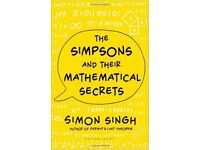 """Brand new """"The Simpsons and Their Mathematical Secrets"""" Hardcover"""